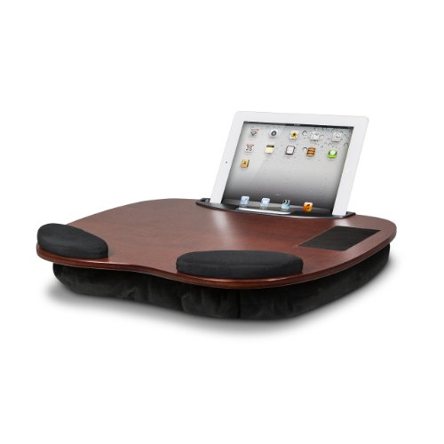 LapGear Media LapDesk Exec for laptops and tablets 91050 Cherry by Lap Desk