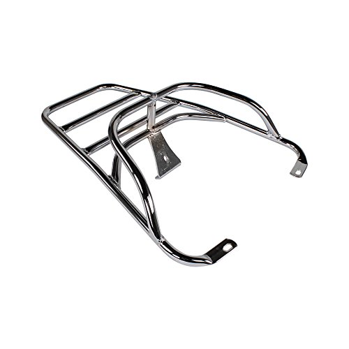 Top Case Rear (Cuppini Chrome Rear Rack for Topcase;)