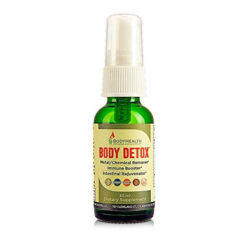 BodyHealth Body Detox Drops Oral Spray - Complete natural liquid cleansing formula for kidney, liver, intestines cleanse, Best Immune booster & Powerful antioxidants ()