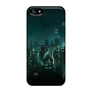 Anti-Scratch Cell-phone Hard Covers For Iphone 5/5s With Provide Private Custom Trendy Bioshock Rapture Series DustinFrench