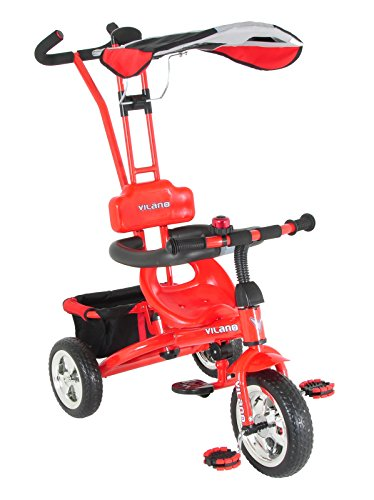 3 In 1 Stroller Tricycle - 1