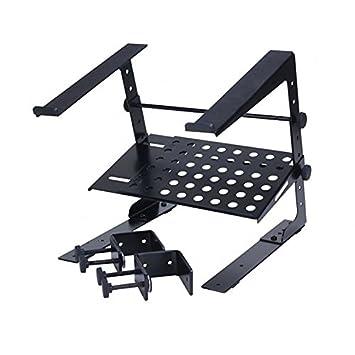 PROEL LTS002 Soporte para ordenador portátil, compatible con una amplia gama de sistemas DJ.: Amazon.es: Instrumentos musicales