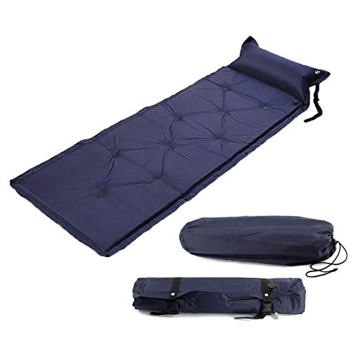 (Mat Mat - Single Self Inflating Camping Roll Mat Pad Inflatable Bed Sleeping Mattress Bag - Bibs Easter Spring Inserts Matmates Doormat Matmati Tray Patricks)