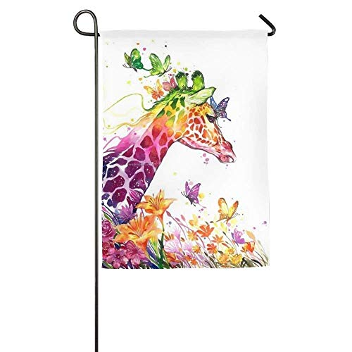 Pingshoes Colorful Giraffe Animal Funny Outdoor Yard House G
