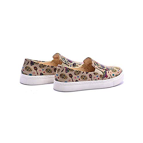 Sneakers On Coc4005 Shoes Skull Slip 4Eqwx58
