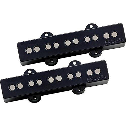 DiMarzio DP552 Area J Jazz 5-String Bass Neck/Bridge Pickup Set Black