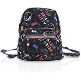 Finex Hello Kitty Tablet iPad Mini Small Bag Canvas Causal Daypack Multipurpose All Over Print for Travel Trip Hiking