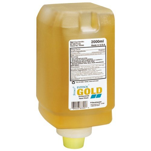 Stoko 98330506 Estesol® Gold Anti-Microbial Hand Cleanser (2,000ml Soft Bottle)