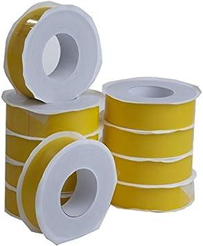 2x Dampfsperrklebeband 60mm x 40m gelb Klebeband Dampfsperrfolie Dampfbremsfolie Dampfsperre
