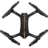 Leewa L6060W 2.4G 6-Axis RC Quadcopter Drone FPV WiFi 2MP 120° FOV Real-time View Foldable Altitude Hold Drone (Orange)