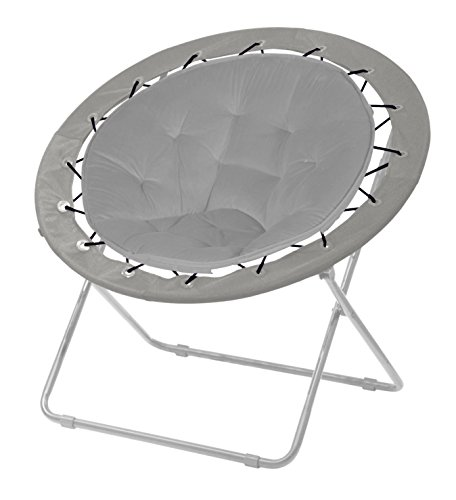Urban Shop Bungee Chair, Grey