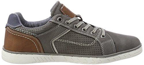 TOM TAILOR Herren 4882104 Sneaker Grau (Coal)