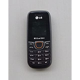 LG A275 Black Unlocked GSM Dual SIM QuadBand Cell Phone - International Version - No Warranty