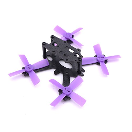 ELF X2 88mm 88 Carbon Fiber Frame Kit Mini Light For Indoor Interior RC FPV Cross Racing Drone Quadcopter With 1935 (88mm Light)