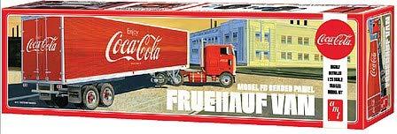 1/25 AMT Coca-Cola FB Beaded Panel Fruehauf Van Trailer