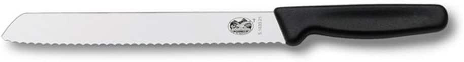 Victorinox Bread Knife Bread Knife, Black, 5.1633.21