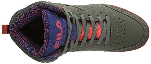 Fila Bounce Mid WMN - Zapatillas deportivas altas de material sintético mujer gris(Castlerock)