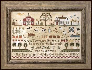 (Farm Life Cross Stitch Chart)