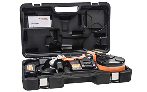 (Walter 34A951 Cutting Tool Kit – 6 in. Cordless Zip Wheel Cutter Tool with Ventilated Charging Station, Pin Key Wrench. Abrasive Grinding Tools)