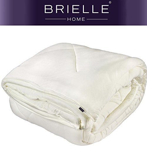 Brielle 100 Percent Knitted Comforter Natural