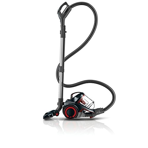 Dirt Devil SD40055B Dash Multi Power Carpet and Hard Floor Cyclonic Canister with Swipes - Corded ()