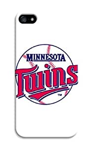 LarryToliver iphone 5/5s Case Cover New Design,best Customizable Baseball Minnesota Twins iphone Case fell happy