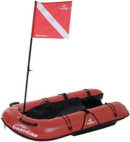 BEUCHAT Guardian Board Float with Legal Dive Flag