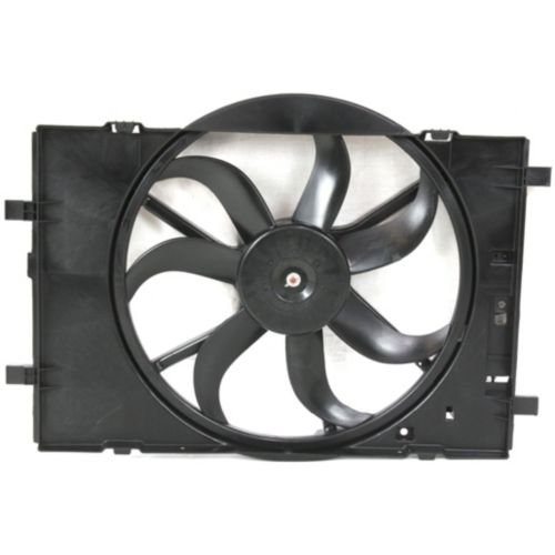 MAPM Premium FUSION 06-09 RADIATOR FAN SHROUD ASSEMBLY, w/o Fan Control Module by Make Auto Parts Manufacturing (Image #1)