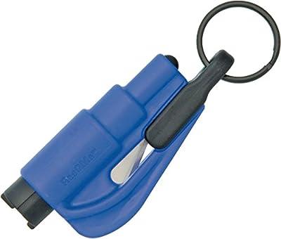 resqme The Original Keychain Car Escape Tool, Made in USA (Blue)