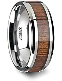 Amazoncom Other Materials Wood Wedding Rings Jewelry