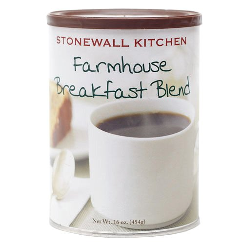 Stonewall Kitchen Medium Roast Coffee - Multiple Options (Farmhouse Breakfast Blend Medium Roast, Ground) - Stonewall Kitchen Pumpkin