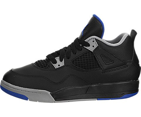 Jordan 4 Retro BP Boys Sneakers - Black Size 11.5 M US Little Kid by Jordan