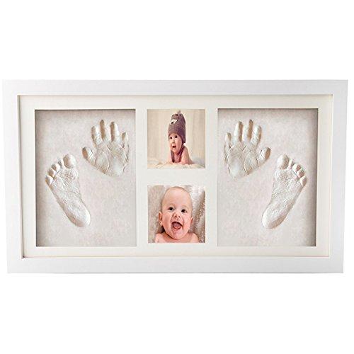 Premium Newborn Baby Hand Print and Footprint Photo Frame Kit