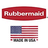 Rubbermaid Dual-Action Swing Lid Trash Can for