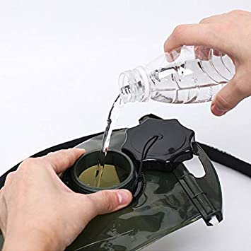 Color Verde tama/ño 2 L Kylebooker Dep/ósito Camelback Bolsa de Agua para Deportes al Aire Libre Bolsa de hidrataci/ón Bolsa 2 l Agua