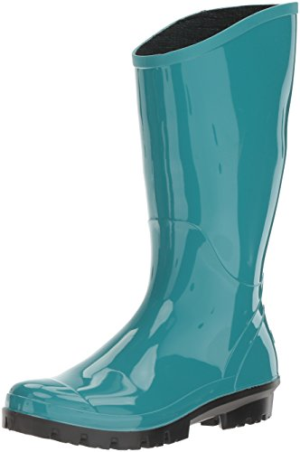 Columbia Women's Rainey Tall Rain Boot, Teal, Jade Lime, 7.5 UK