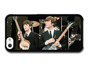AMAF ? Accessories Paul McCartney and John Lennon Posing with Instruments The Beatles case for iPhone 5C