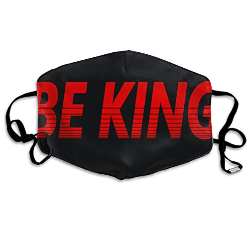 SDQQ6 Be King Mouth Mask Unisex Printed Fashion Face Mask Anti-dust Masks