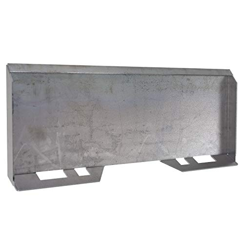 """YINTATECH 5/16"""" Skid Steer Mount Plate Quick Attachment Loader Plate Compatible for Kubota Bobcat Tractor"""