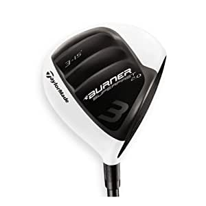TaylorMade Burner Super Fast 2.0 Golf Fairway Wood with 15 Degree Head, Right Hand, Graphite, 3, Regular