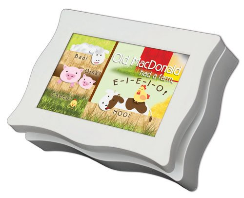 Old Mcdonald Nursery Rhyme Cottage Garden Digital Music Musical Box Plays Old Macdonald Had A Farm