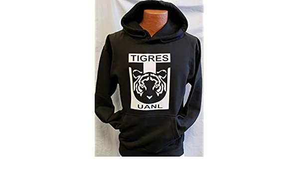 Amazon.com : New Universidad Autonama de Tigres Sudadera De Gorro Hoodie Size XL : Sports & Outdoors