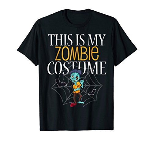 This Is My Zombie Costume T (Sci Fi Halloween Costumes Ideas)