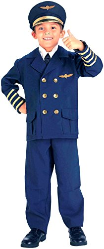 [Forum Novelties Airline Pilot Costume, Small] (Pilot Costumes Kids)
