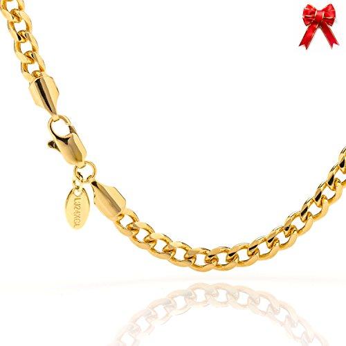gold bracelet italian mens - 8