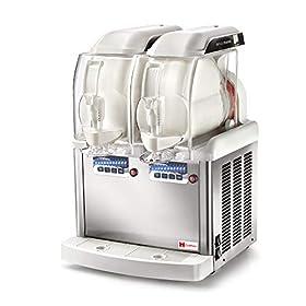 Grindmaster-Cecilware GT Push 2 Countertop Frozen Granita & Ice Cream Dispenser, Two 1.3 Gallon Bowls