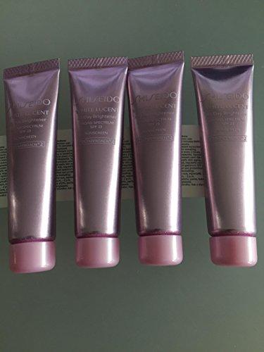 Shiseido Brightener - Shiseido White Lucent All Day Brightener SPF 22 (Deluxe Travel Size) 15ml X 4 Tube 60ml