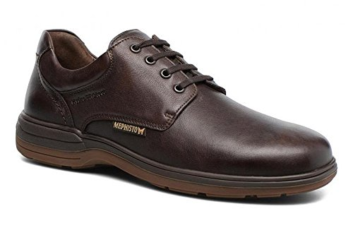 Mephisto Mannen Lace Up Brogues Donkerbruin