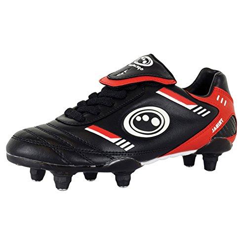 Optimum tribal Junior si scarpe da calcio con lacci 6borchie scarpe da calcio scarpe