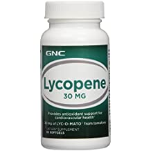 GNC Lycopene 30 mg for Cardiovascular Health - 60 Softgels